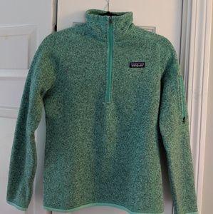 Women's small Patagonia quarter zip better sweater